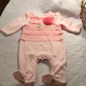 Juicy Couture Infant One Piece